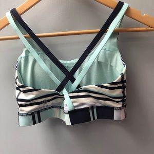 lululemon athletica Intimates & Sleepwear - Lululemon sz 6 multicolor striped sports bra